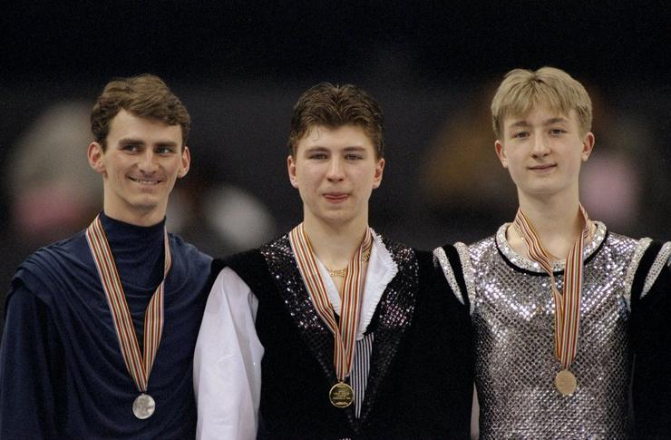 Тодд Элдридж,Алексей Ягудин и Евгений Плющенко