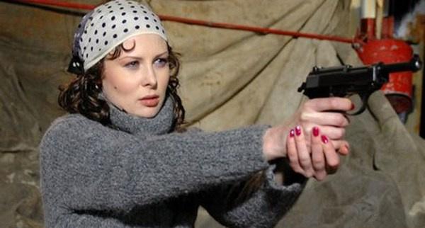 Ольга Погодина и в жизни отличается боевым характером