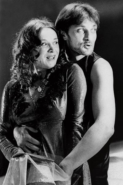 Даже Александр Домогаров побаивался Маргарит Терехову. Спектакль «Милый друг», конец 90-х