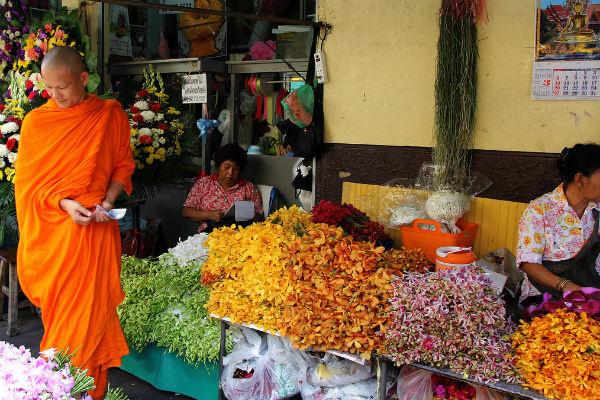 Рынок Пак Клонг Талад