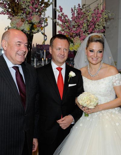 Мария Максакова с мужем и Михаилом Швыдким