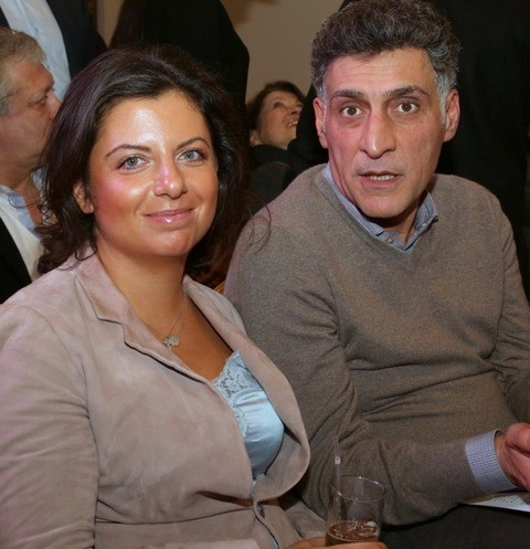 Тигран Кеосаян и Маргарита Симоньян