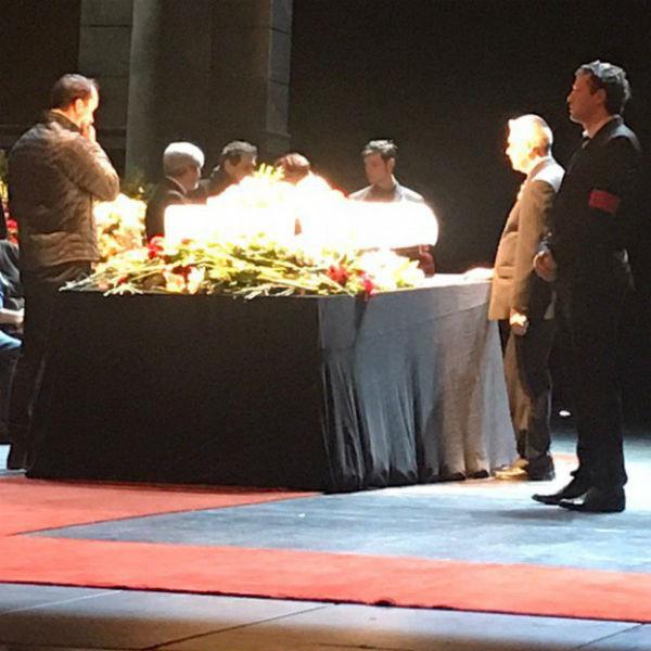 Поклонники, друзья и ученики почтили память великого артиста