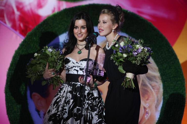Тина Канделаки и Ксения Собчак