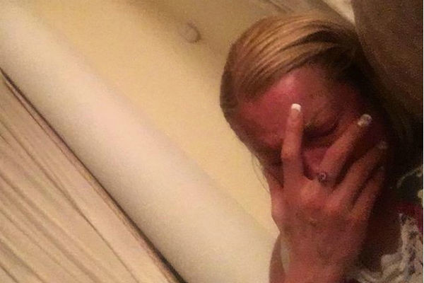 Анастасия Волочкова плачет после смерти кота