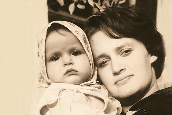Александра Флоринская с мамой