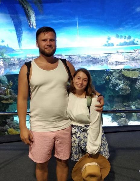 Ксюша и Максим несколько раз в год улетают за границу путешествовать