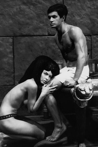 Ежи Зельник играл вместе с Брыльской в картине «Фараон»