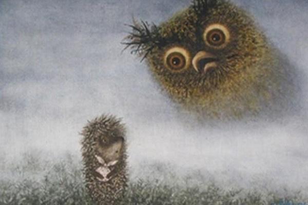«Ежик в тумане» был озвучен Марией Виноградовой