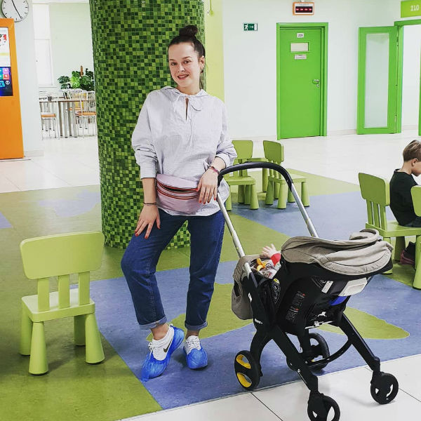 Наталия пришла вместе с детьми в клинику