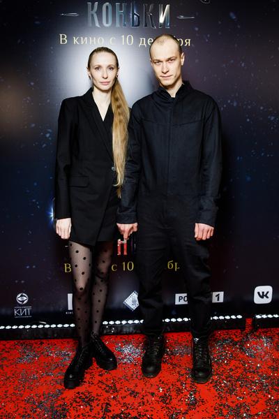 Юра Борисов с супругой