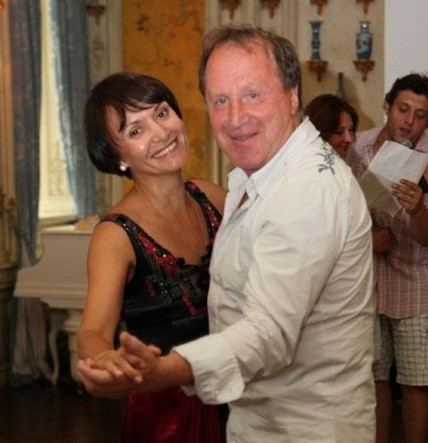 Владимир Стеклов с женой