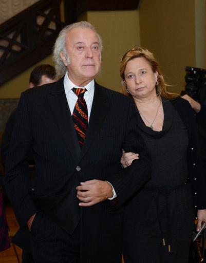 Илья Резник с супругой Ириной