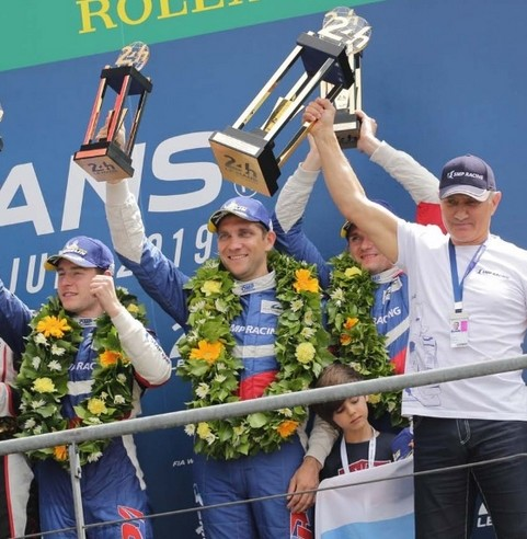 Команда SMP Racing заняла третье место в «24 часа Ле-Мана»