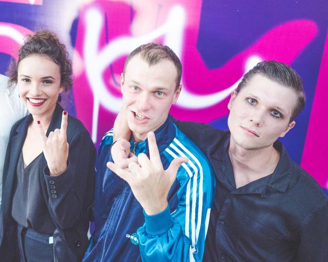 Стася Милославская, Юрий Борисов и Сергей Двойников