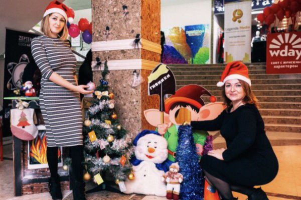 Зимний праздник в Краснодаре!