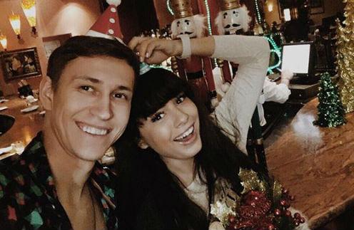 Нелли Ермолаева с возлюбленным Кириллом Андреевым