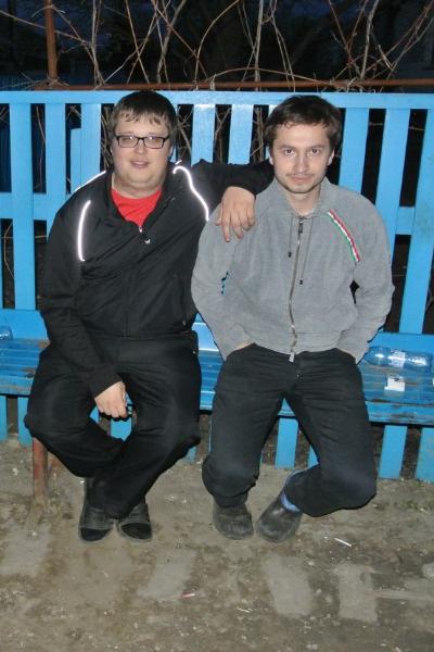 Таким Егор (слева) был до преображений