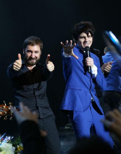 Александр Бон дал большой концерт в «Крокусе»
