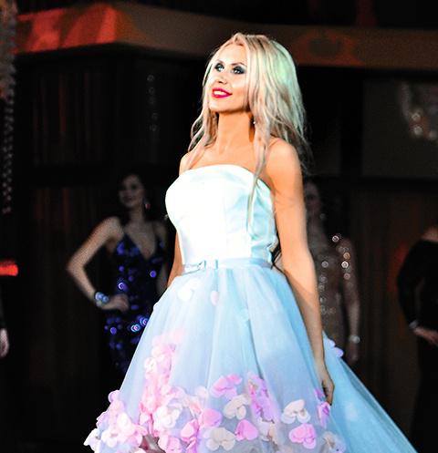 Оксана Зотова получила титул «Мисс чувственность»