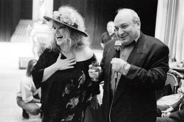 Жванецкого и Пугачеву связывает многолетняя дружба. 1992 год