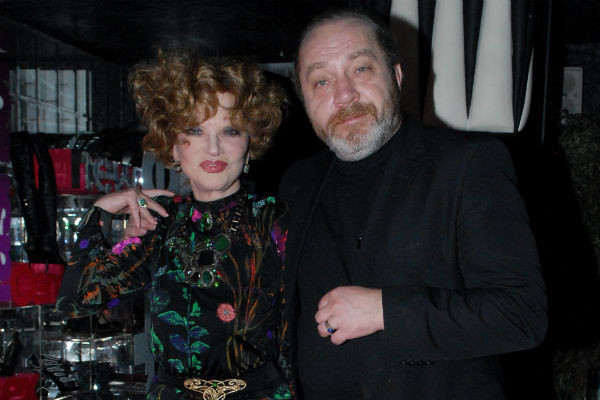 Артистка с супругом Сергеем Сениным