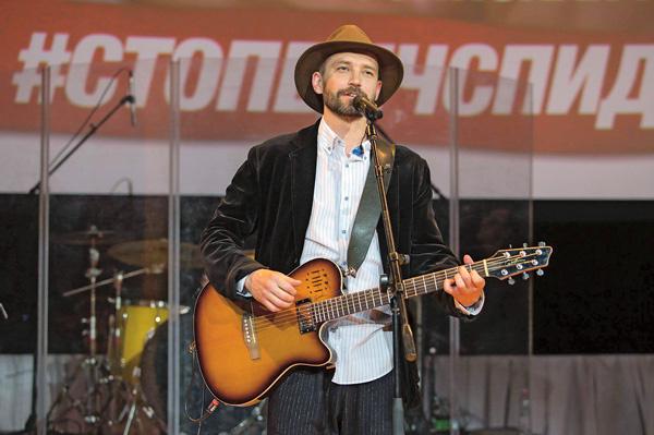 Владимир Кристовский устроил на форуме музыкальную паузу