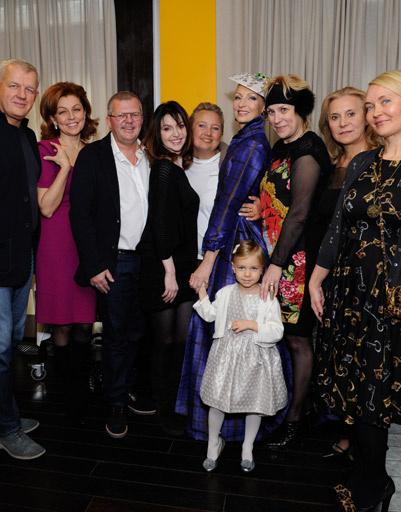 Гости на дне рождения Илзе Лиепа