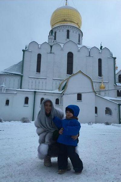 Правнук Эдиты Станиславовны растет славным мальчиком