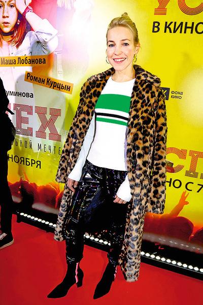 Мария Шалаева на премьере фильма «Успех»