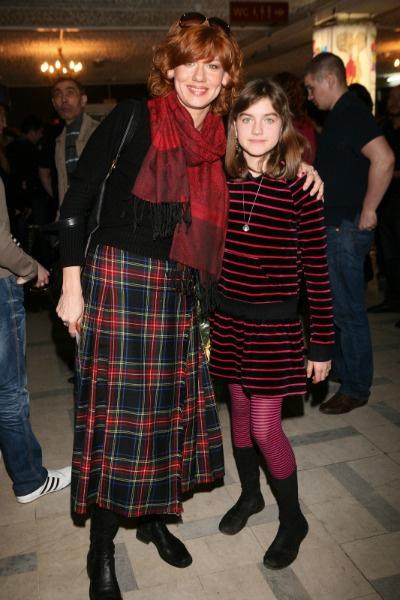 Елена Бирюкова с дочерью Александрой