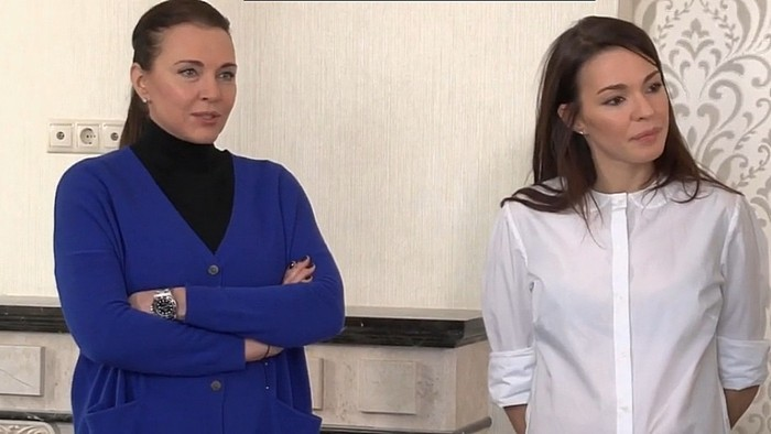 Татьяна Лютаева и Агния Дитковските в новом доме