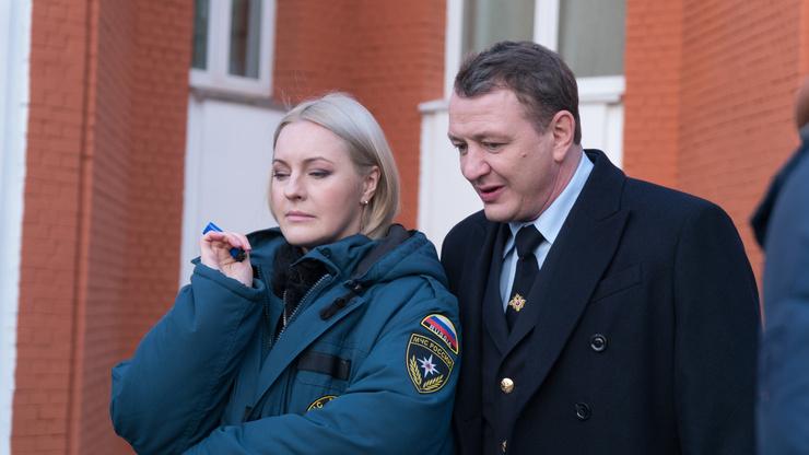 Яна Крайнова и Марат Башаров