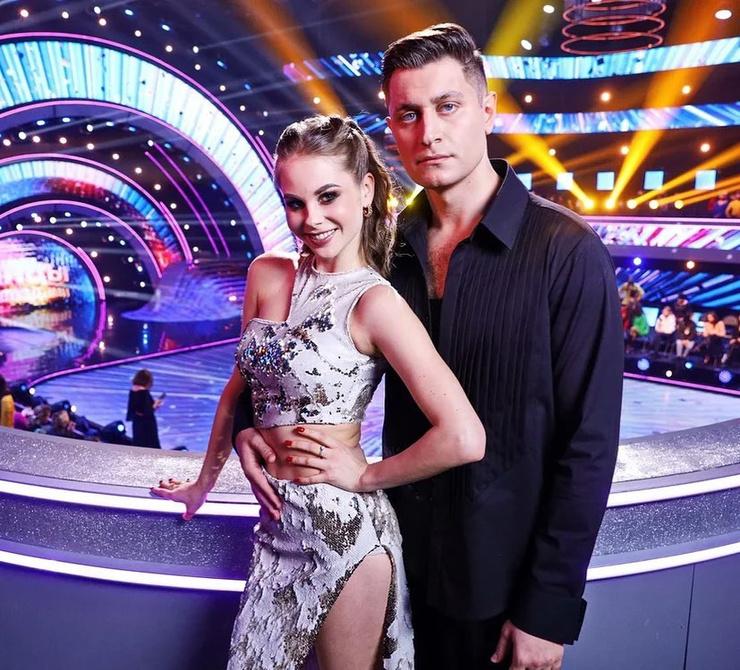Дава танцевал вместе с Дарьей Палей