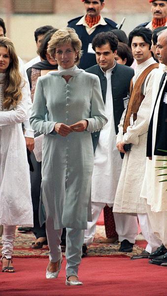Принцесса Диана еще 20 лет назад говорила о важности сохранения хороших отношений с Пакистаном