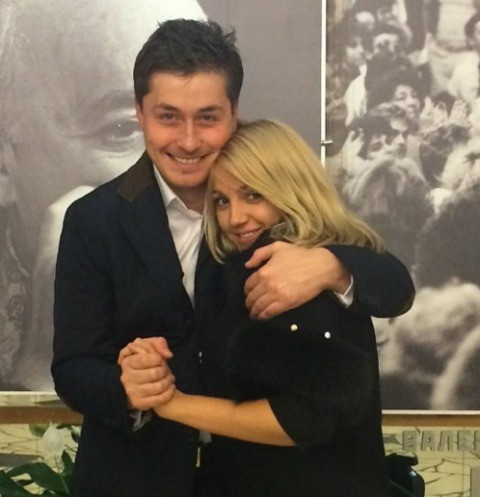 Сергей Оборин с невестой Анной Бажановой
