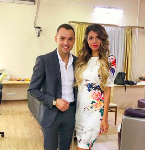 Александр Гобозов и Алиана Устиненко