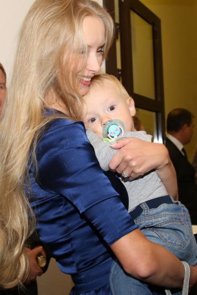 Марина Коташенко с сыном
