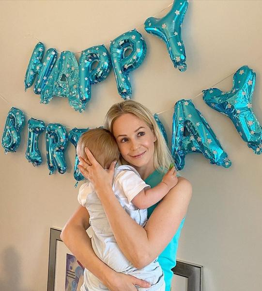 Актриса впервые стала мамой 19 июня прошлого года