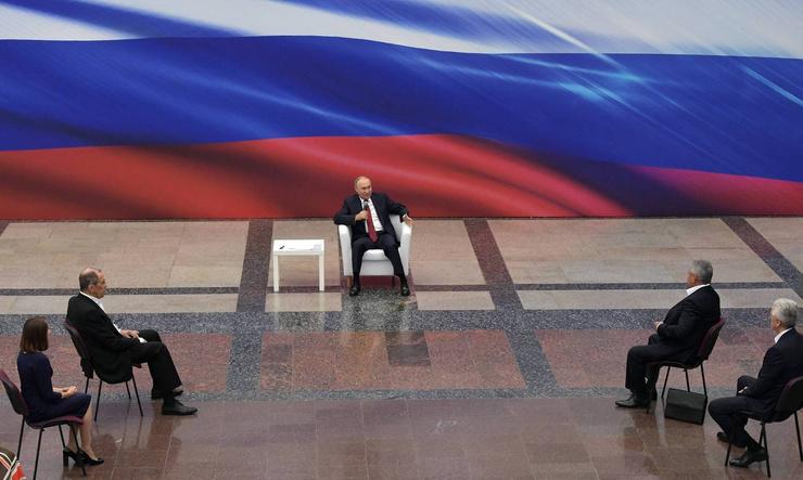Сегодня состоялось обсуждение предвыборной платформы «Единой России» перед предстоящими парламентскими выборами, намеченными на середину сентября в Москве
