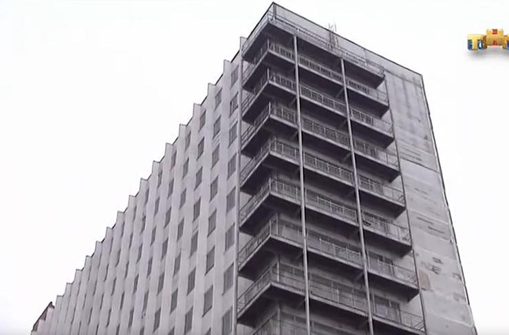 Здание бывшего конструкторского бюро