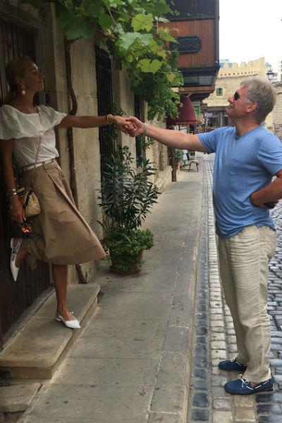 Татьяна и Дмитрий посетили самые красивые места Баку
