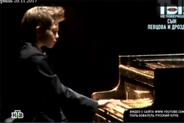 Елисей Певцов серьезно занимается музыкой