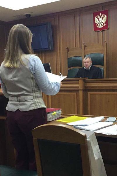 Заседание суда по делу о банкротстве Заворотнюк