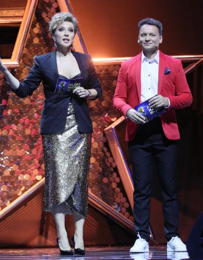 Яна Чурикова и Александр Олешко