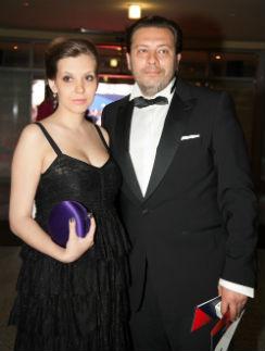 Сергей Минаев с супругой Лизой