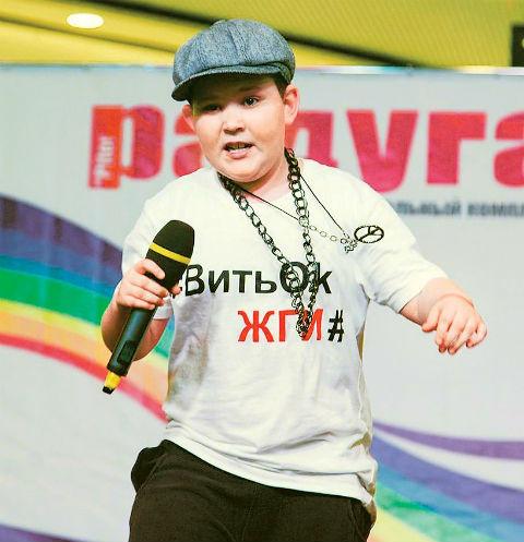 Витя на выступлении в Санкт-Петербурге, май 2016-го