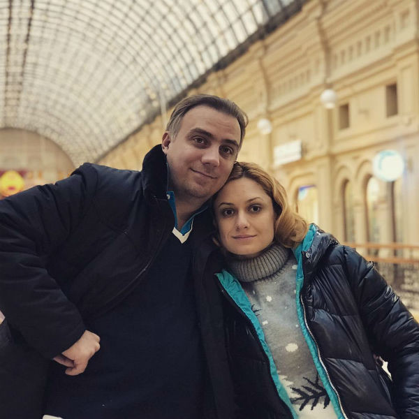 Карина Мишулина с мужем Иваном Коробовым