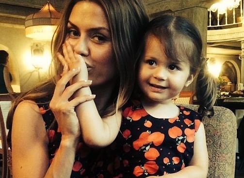 Виктория Боня страдает от разлуки с дочерью