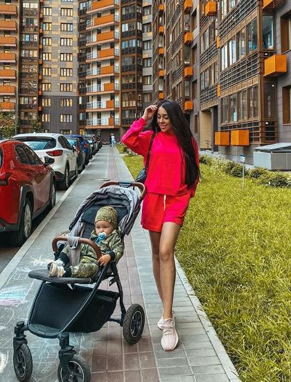 Алена намерена сделать все, чтобы ее ребенок ни в чем не нуждался